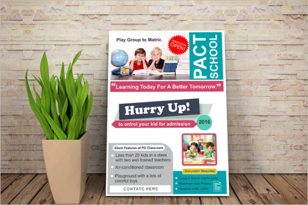Free Education Flyer Design