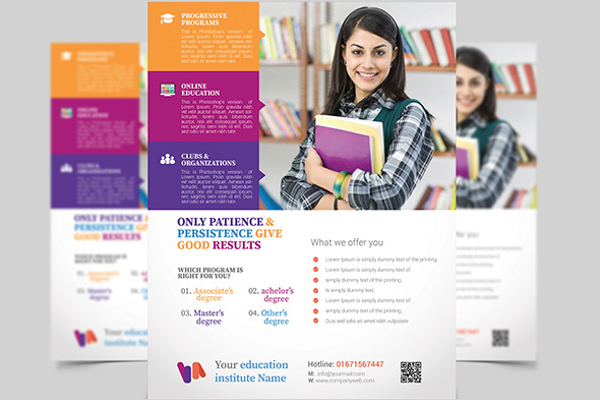 50 education flyer templates free premium designs