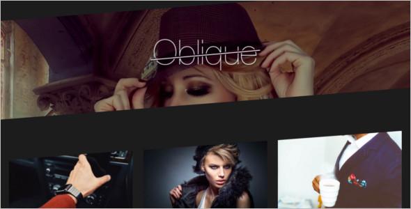 Free Fashion Blog Theme