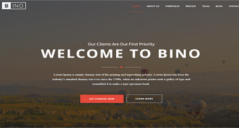 Responsive HTML5 Landing Page Templates