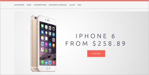 Free Mobile Shop OpenCart Theme