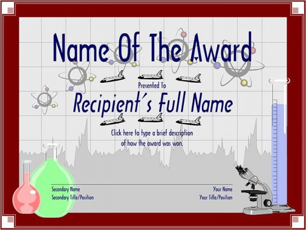Free printable certificate templates free templates free school award certificate yelopaper Choice Image