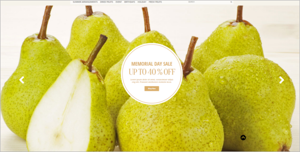 Fruit Farmimg Magento Template