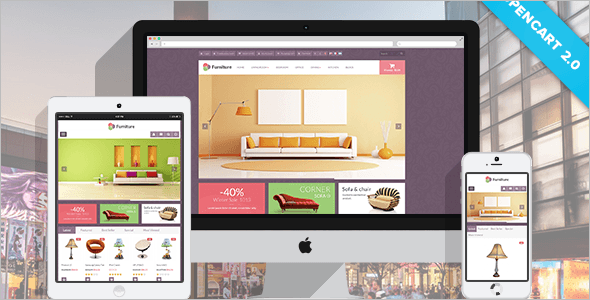 Furniture Opencart Theme