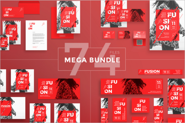 Fusion Advertising Flyer Template