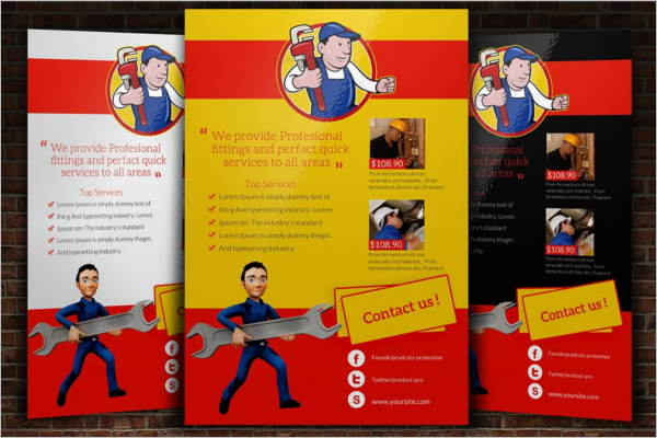 General Maintenance Flyer Template