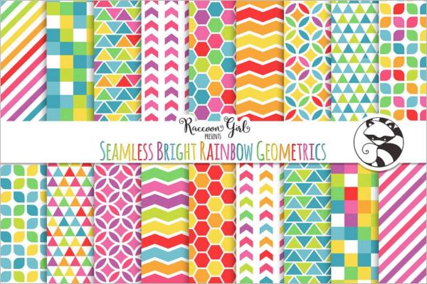 Geometric Bright Pattern Design