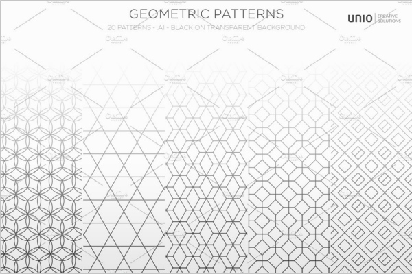 Geometric Pattern Background Design