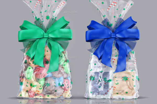 Gift Bag Mockup Design