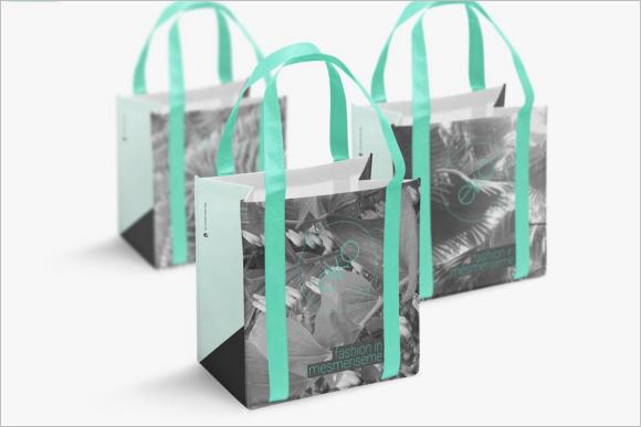 Gradient Eco Bag Design