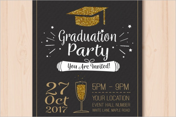 Graduation Free Event Poster