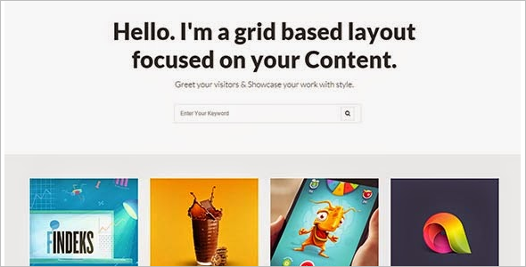 Graphic Blog Free Template