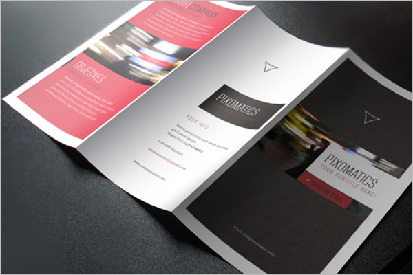 Graphic Brochure PSD Template