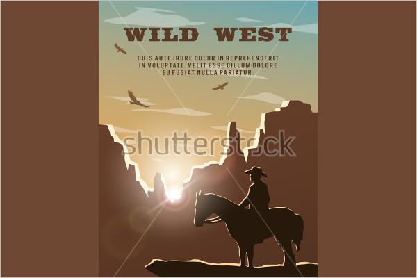 Graphic Horse flyer Design