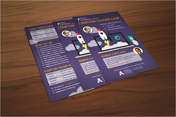 Graphic Tutoring Flyer Template