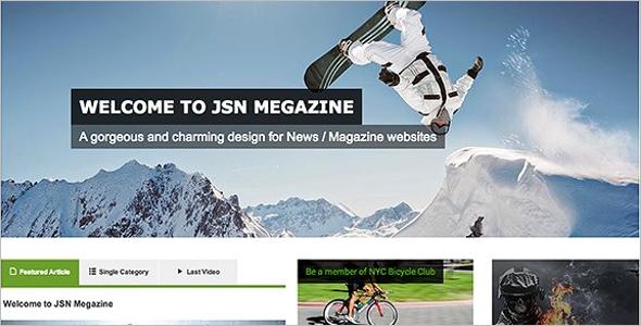 Great Magazine Joomla Template