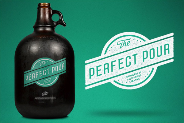 Growler Mock-Up Design
