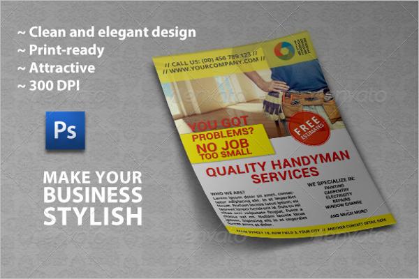 Handyman Business Flyer