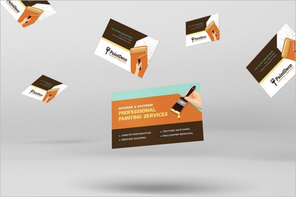 Handyman Decorator Business Card