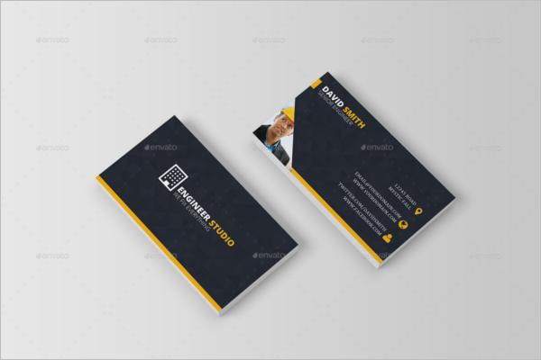 Handyman Engineer Business Card