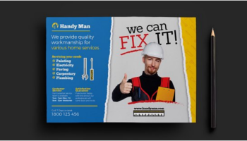 Handyman Flyer Templates