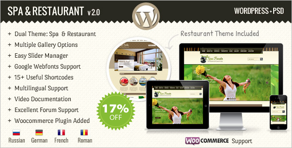 Health Resort WooCommerce Theme