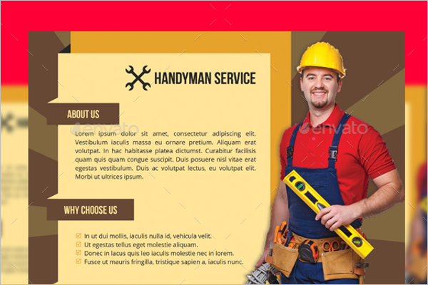 Home Service Flyer Template