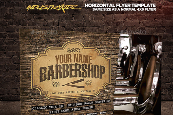 Horizontal Flyer Template