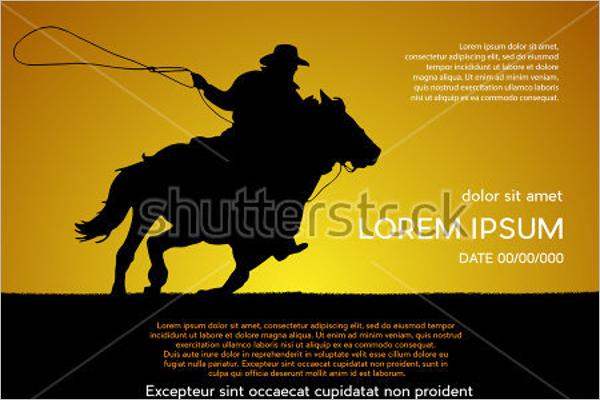 Horse Flyer Element Design
