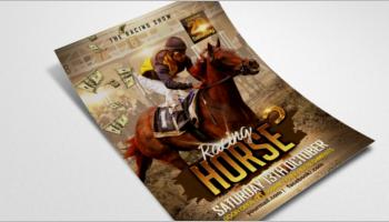 Horse Flyer Templates