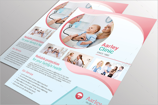 Hospital Clinic Poster Template