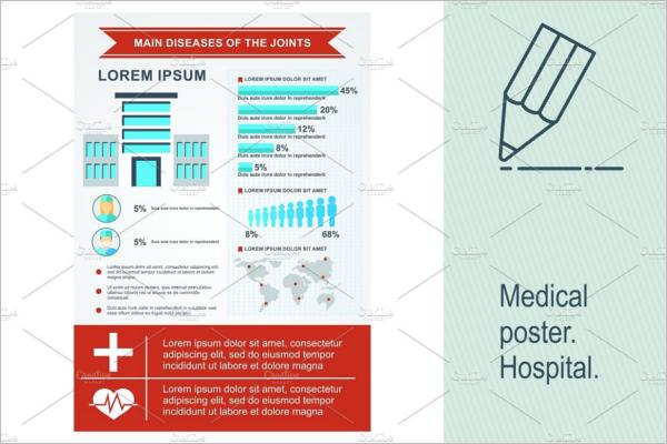 Hospital Medical Poster Template.