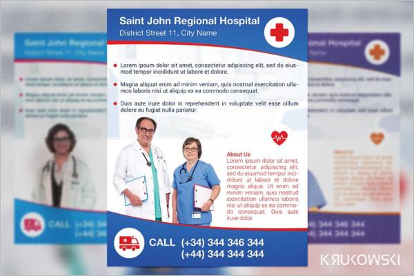 Hospital Poster Design
