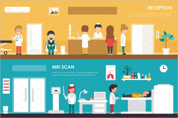 Hospital Reception Poster Design