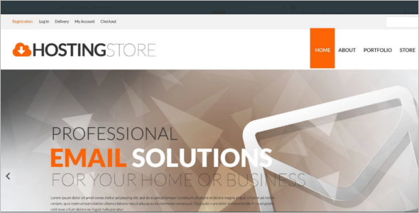Hosting Business Responsive WooCommerce Theme