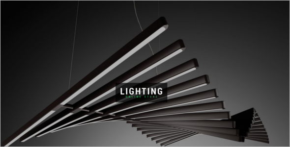 House Lighting Magento Template