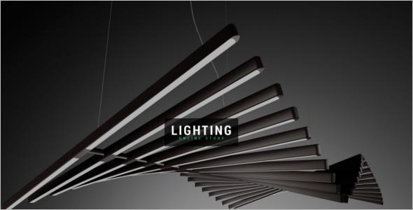 House Lighting Magento Template