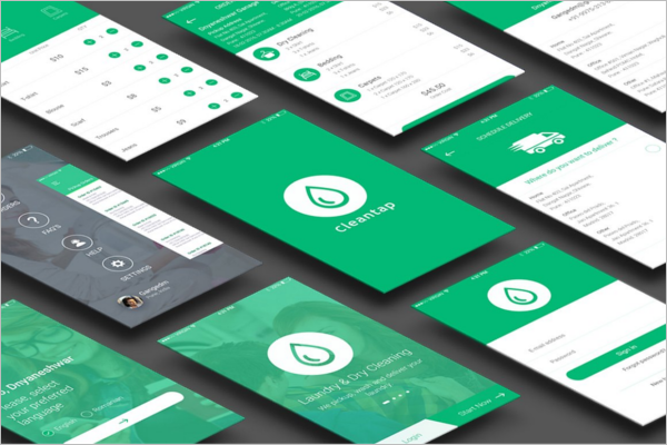 IOS App UI Kit Promo