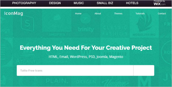 Icon Mag Blog Free Template
