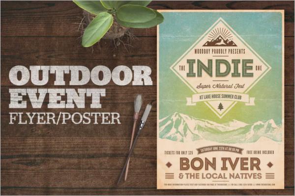 Indie Event Poster Design