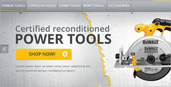 Industrial Company Magento Theme