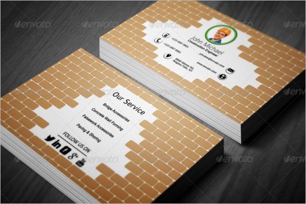 Industrial Handyman Business Card