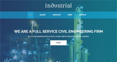 Industrial OpenCart Templates