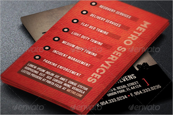 Industry Handyman Business Card