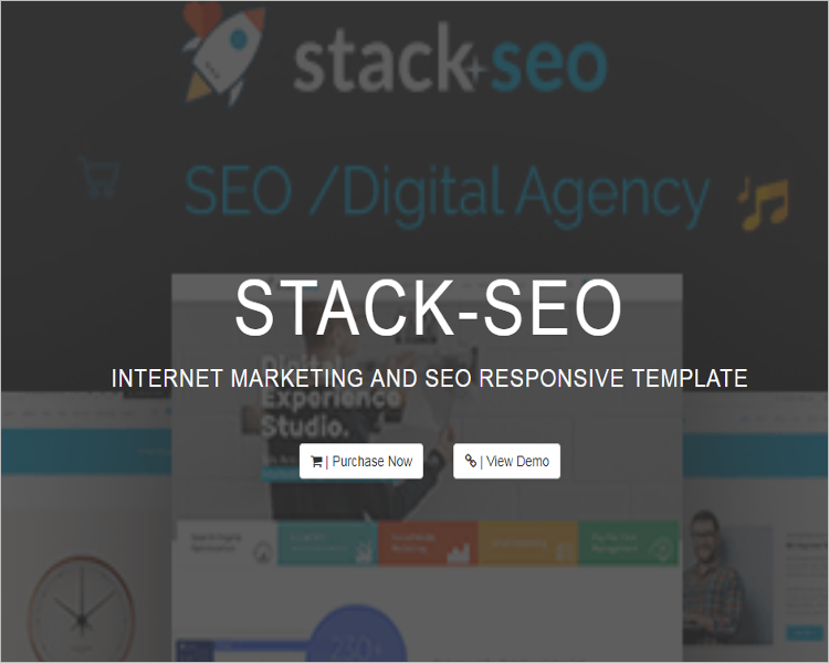 Internet Marketing WordPress Theme