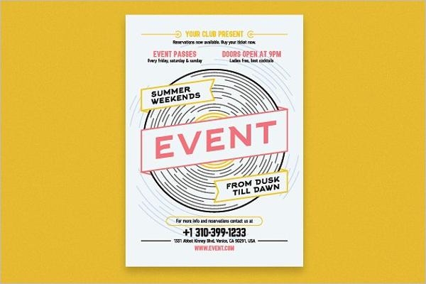 Islamic Event Poster Design