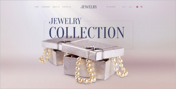 Jewelry Collection OpenCart Template