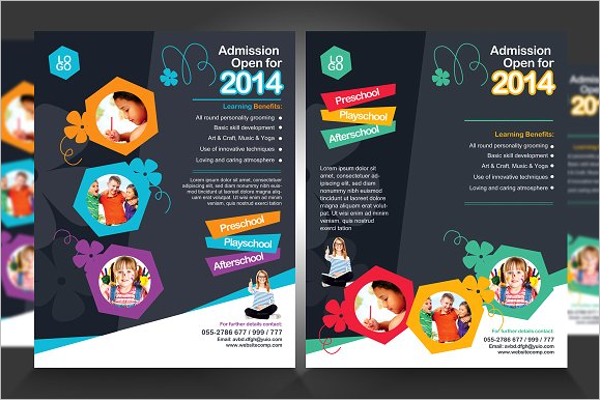 Junior School Education Flyer