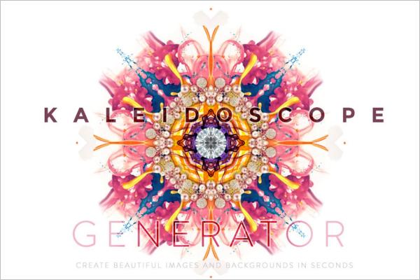 Kaleidoscope Abstract Pattern