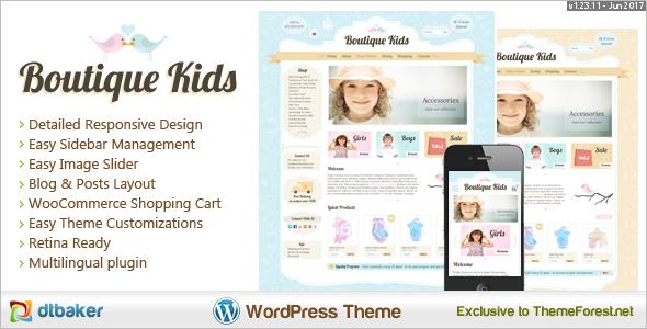 Kids Boutique WooCommerce Theme